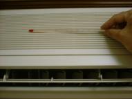 室内機吸い込み温度の測定