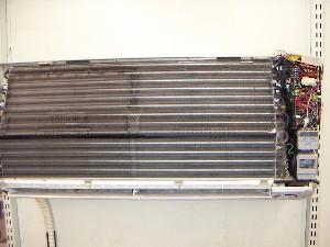 室内機の熱交換器が見えるようになりました
