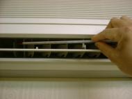 室内機吹き出し温度の測定