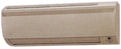 2007年ダイキンエアコンのPシリーズ室内機ベージュ