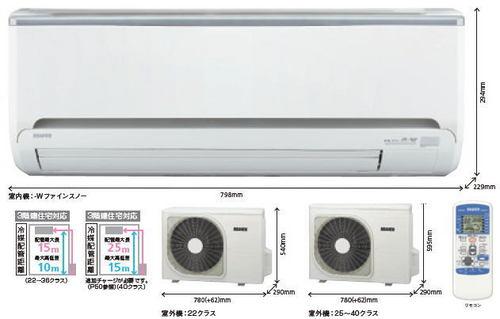 三菱重工エアコンRLシリーズ室外機
