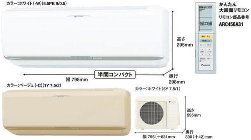 ダイキンHXシリーズ室外機とリモコン