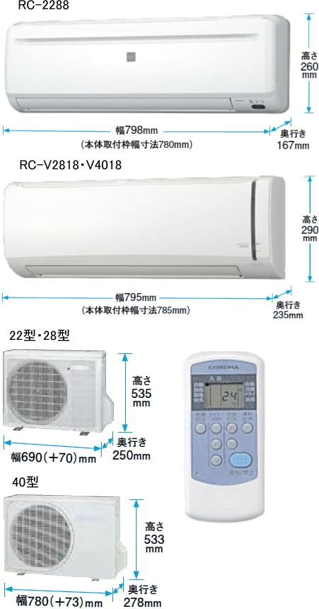 冷房専用シリーズの画像