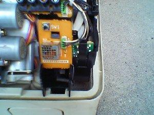 リモコンの受光部基板です。